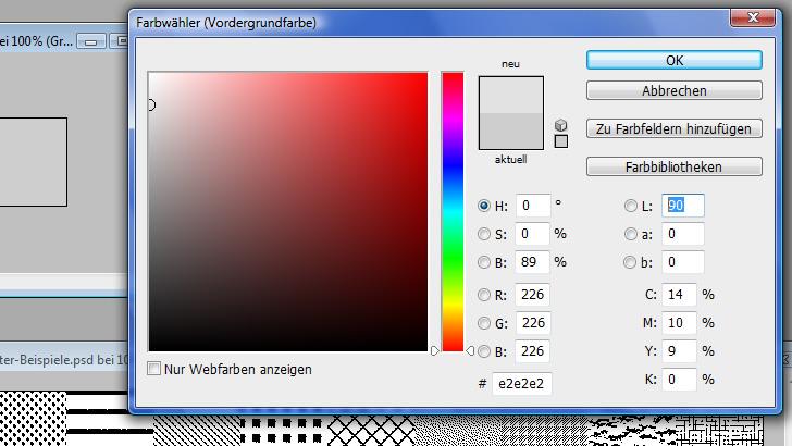 Screenshot Farbwähler